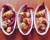 Stuffed calamaretti