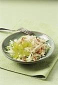 Weisskohlsalat mit Trauben