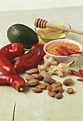 Ingredients for GI (Glycaemic Index) cuisine