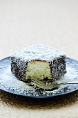 Lamington (Cake coated in desiccated coconut, Australia)