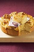 Rosenkuchen ('Rose cake') with marzipan filling