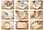 Making yeast cake