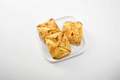 Curd cheese turnovers