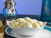 Rasgulla (Sweet cheese balls, India)