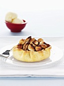 Nut and honey tart