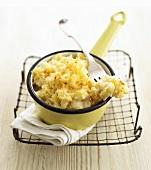 Macaroni and Cheese mit Blumenkohl