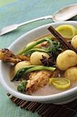 Chicken and potato hotpot