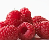 Several raspberries (close-up)
