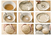 Making mixed wheat and rye bread