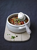 Tomato and chick-pea stew