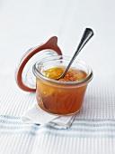 Tomato and orange jam