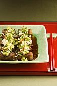 Japanese beef salad
