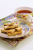 Biscotti veneziani (Biscuits with tea, Italy)