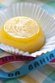 Quindim (Coconut egg custard, Brazil)