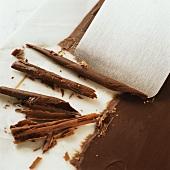 Schokoladenröllchen zubereiten