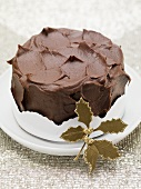 Chocolate cake to give as a gift