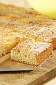 Saxon butter cake