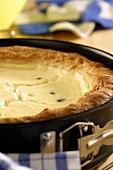 Hessian sour cream tart