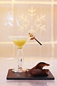 Pear and apple Martini
