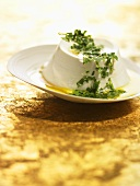 Ricotta with fresh herbs and acacia honey