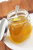 Beurre noisette in jar
