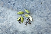 Cardamom pods and cardamom seeds
