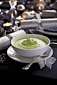 Leek and broccoli puree for Christmas