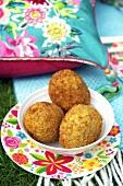 Scotch eggs for a picnic