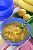 Aprikosen-Bananen-Mus