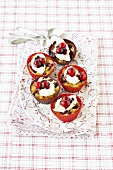 Cranberry and cashew cupcakes