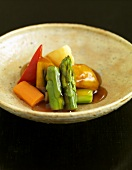 Asian sweet and sour vegetables