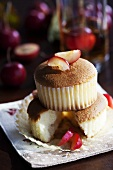 Muffins with crab apples