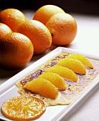 Orange gratin