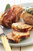 Polpettone al prosciutto (Meatloaf with ham and sage)