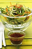 Vegetable salad with chilli sauce (Thailand)