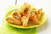 Chicken and bacon pasties (in puff pastry)