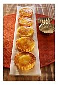 Caramelised Limoncello tarts