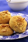 Almond and orange biscuits