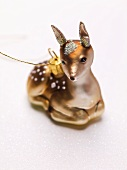 Christmas tree ornament (deer)