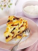Ein Stück Appeltaart (Apfelkuchen aus den Niederlanden)