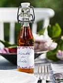 A bottle of calvados