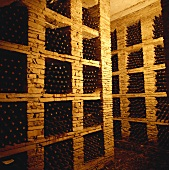Bottle store at Tsantali Wine Estate, Agios Pavlos, Greece