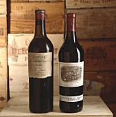 Two bottles of red wine from Château Lafite-Rothschild