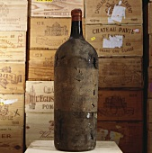 An old bottle of Château Beauséjour