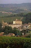 The wine village of Barolo, Piedmont, Italy