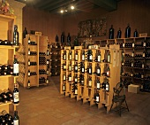 Wine merchant's shop, St. Emilion, Bordeaux, France