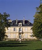 Das Château Kirwan, Cantenac, Gironde, Frankreich