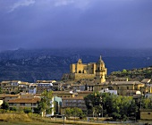 The town of Labastida, Rioja Alavesa, Spain