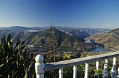 Mirador, view of Pinhao & the Douro Valley, Porto, Portugal