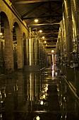 Steel tank cellar, Bodega Terrazas de los Andes, Lujan de Cuyo, Mendoza, Argentina